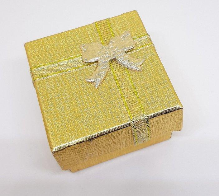 Коробочка для прикрас під кільце і сережки 10180 (5з) - зображення 1