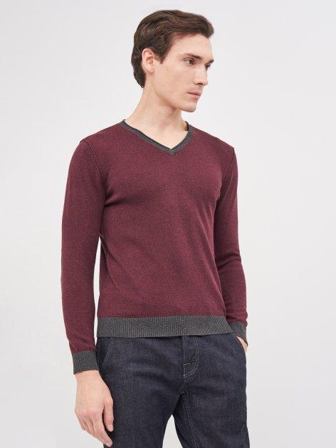 Пуловер Celio Fescollo 60026488 S Бордовый (3596654525046) - изображение 1