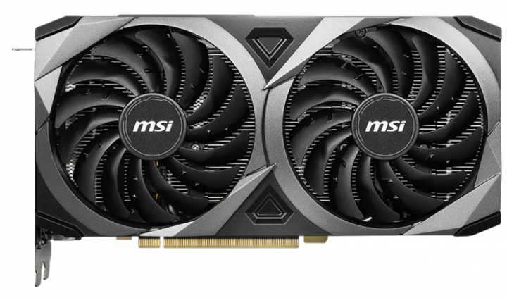 MSI PCI-Ex GeForce RTX 3070 VENTUS 2X OC 8GB GDDR6 (256bit) (14000) (HDMI, 3 x DisplayPort) (RTX 3070 VENTUS 2X OC) - зображення 1