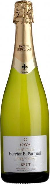 Вино ігристе Heretat el Padruell Cava біле брют 0.75 л 11.5% (8411277205791) - зображення 1