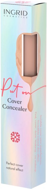 Корректор Ingrid Cosmetics № 01 High Cover с центеллой азиатской 7 мл (5902026661874) - изображение 1