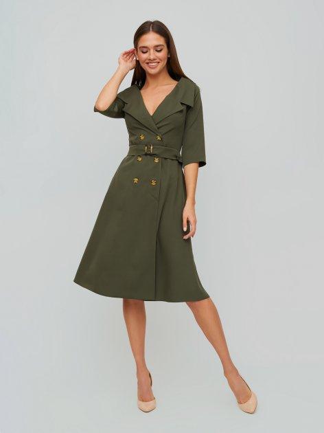 Плаття Karree Алмея P1863M5903 S Хакі (karree100012400) - зображення 1