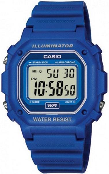 Чоловічі наручні годинники Casio F-108WH-2A2EF - зображення 1