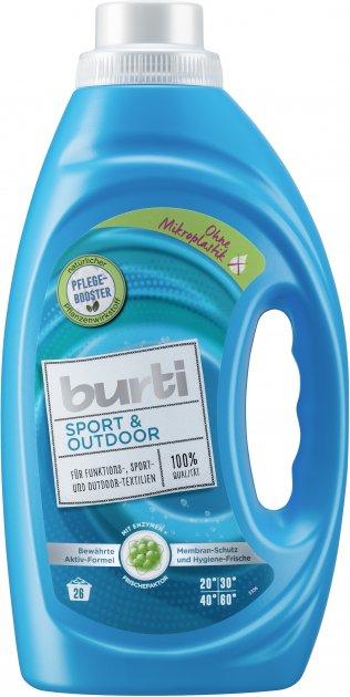 Средство для стирки спортивной и верхней одежды Burti Sport & Outdoor 1450 мл (4000196122582) - изображение 1
