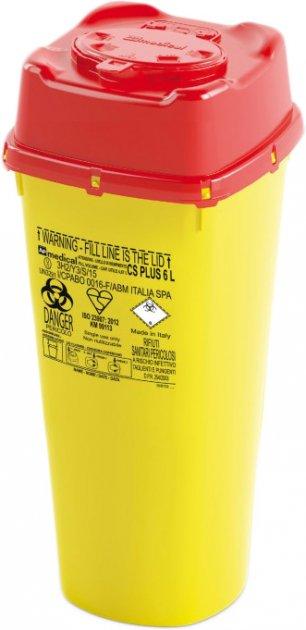 Контейнер для сбора игл и медицинских отходов AP Medical CS PLUS 6 л (2038000 4695 01) - изображение 1