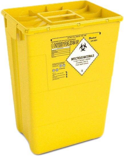 Контейнер для сбора медицинских и биологических отходов AP Medical EVO 50 л MONO (2024100 6044 10) - изображение 1