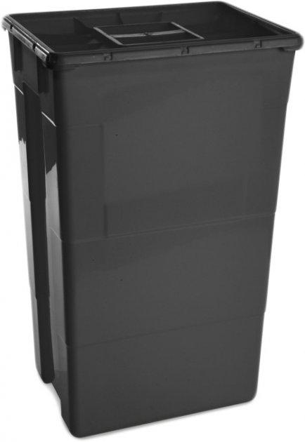 Контейнер для сбора медицинских и биологических отходов AP Medical SC 60 л MONO Black (2022200 4373 02) - изображение 1