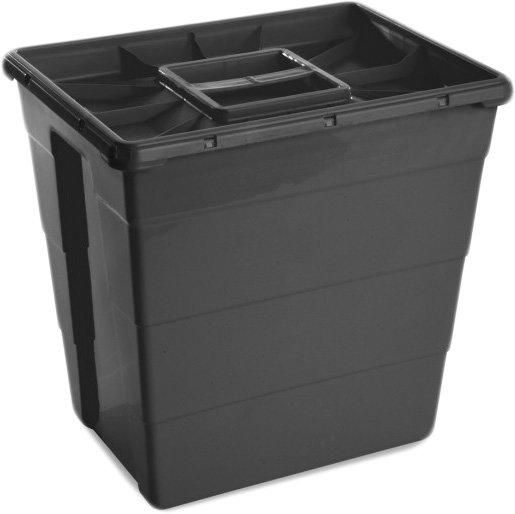 Контейнер для сбора медицинских и биологических отходов AP Medical SC 30 л MONO Black (2020500 4368 02) - изображение 1
