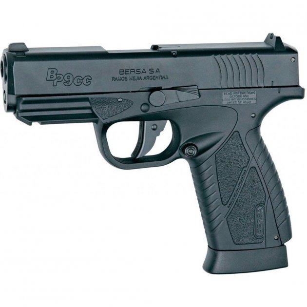 Пневматичний пістолет ASG Bersa BP9CC 4,5 мм Blowback (17301) - зображення 1
