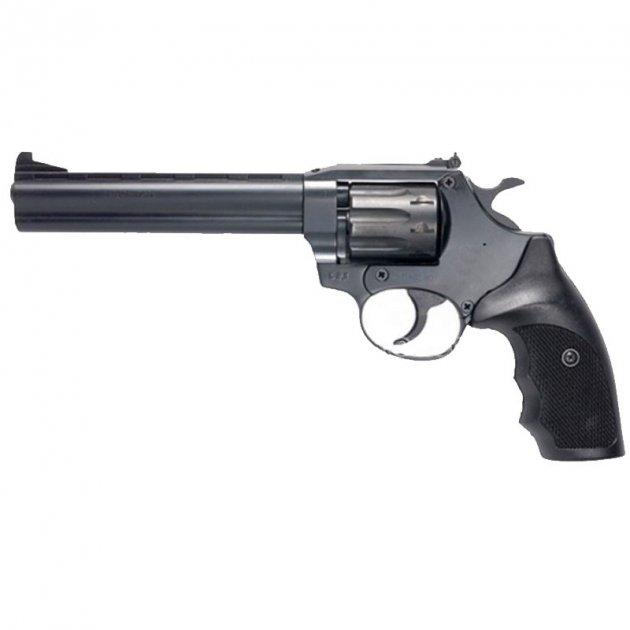 Револьвер под патрон Флобера Safari PRO 461м (6.0'', 4.0mm), ворон-пластик - изображение 1