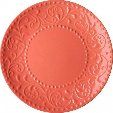 Тарелка обеденнаяArdesto Olbia Deep orange Оранжевый 26 см (AR2926OC) - изображение 1