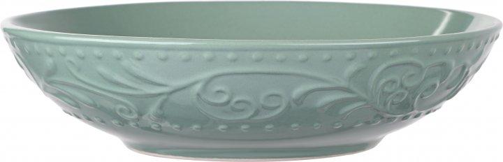 Тарелка суповая Ardesto Olbia Green Bay Зеленый 20 см (AR2920GC) - изображение 1