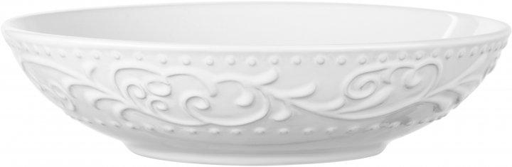 Тарелка суповая Ardesto Olbia White Белый 20 см (AR2920WC) - изображение 1