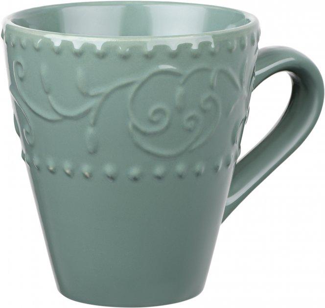 Чашка Ardesto Olbia Green Bay Зеленый 360 мл (AR2936GC) - изображение 1