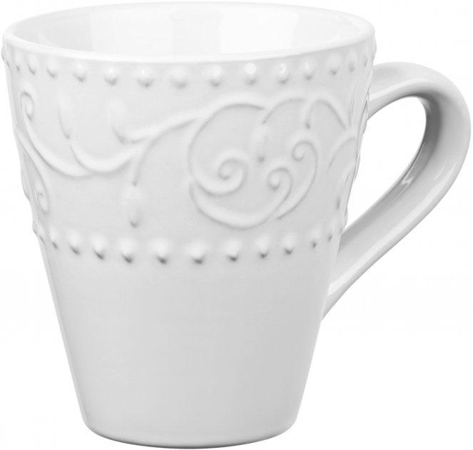 Чашка Ardesto Olbia White Белый 360 мл (AR2936WC) - изображение 1