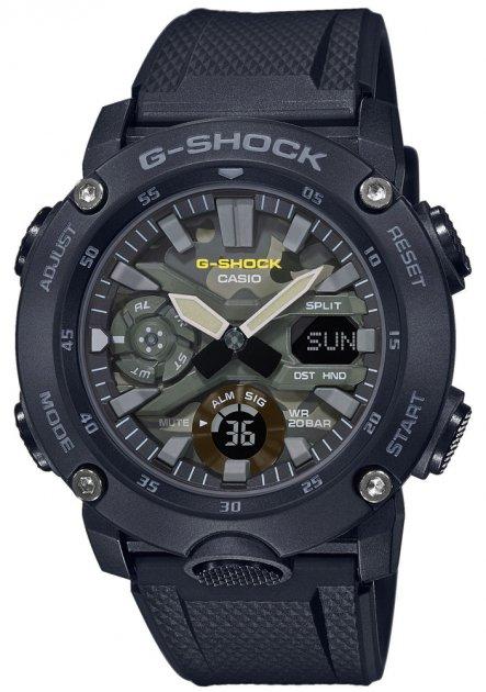Мужские часы Casio G-SHOCK GA-2000SU-1AER - изображение 1