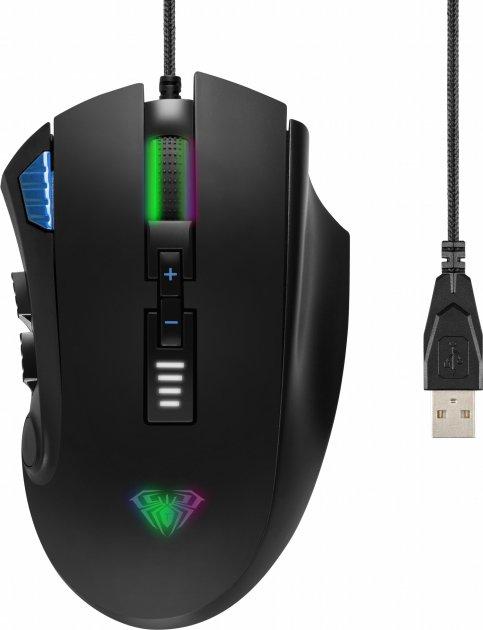Мышь Aula Reaper USB Black (6948391212814) - изображение 1