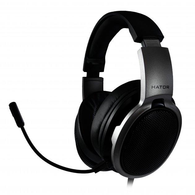 Навушники Hator Hellraizer Black/Grey (HTA-811) - зображення 1