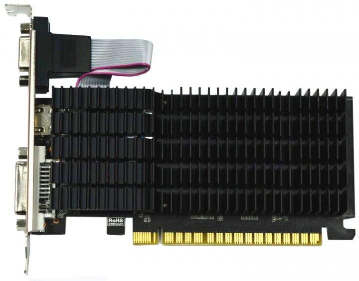 AFOX PCI-Ex GeForce G210 1GB DDR2 (64bit) (589/404) (DVI, VGA, HDMI) (AF210-1024D2LG2) - зображення 1