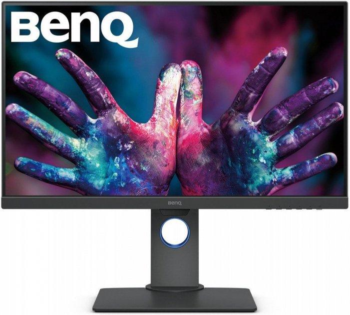 Монитор BENQ PD2705Q Grey (9H.LJELA.TBE) - изображение 1