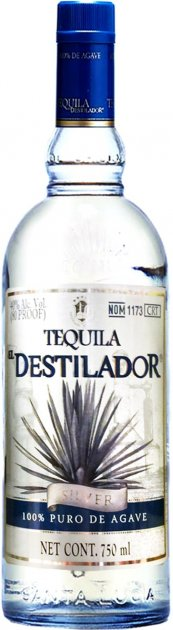 Текила Destileria Santa Lucia El Destilador Silver 0.75 л 40% (7501233711402) - изображение 1