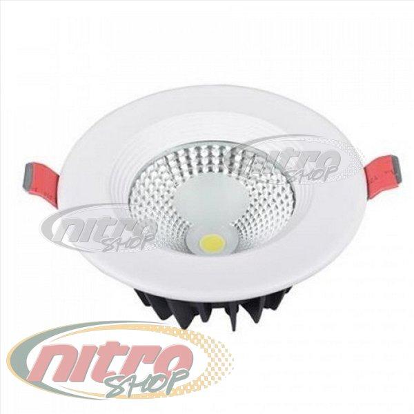 Світильник врізний світлодіодний LED Horoz Electric VANESSA-5 5Вт (~40Вт) 220В 6400K Круглий Білий (016-044-0005) - зображення 1