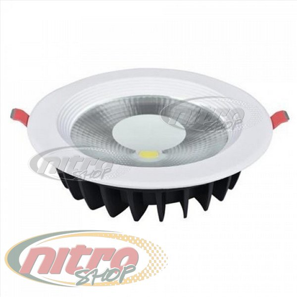 Світильник врізний світлодіодний LED Horoz Electric VANESSA-15 15Вт (~120Вт) 220В 6400K Круглий Білий (016-044-0015) - зображення 1
