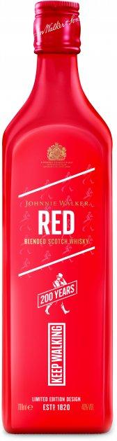 Виски Johnnie Walker Red label Icon 4 лет выдержки 0.7 л 40% (5000267179902) - изображение 1