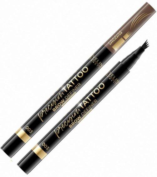 Водостійкий маркер для брів Eveline Precision Tattoo Brow Definer 003 4 г (5903416003755) - зображення 1