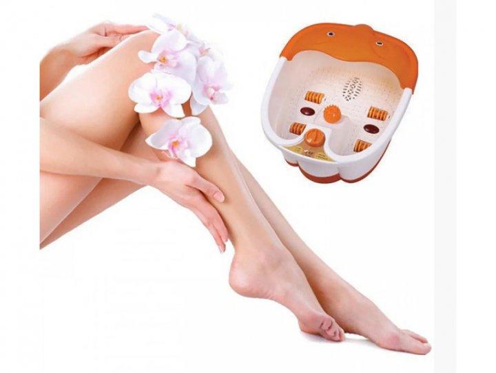 Масажна ванночка для ніг Lilly Beaute Multifunction Footbath Massager гідромасажна з ІЧ підігрівом - зображення 1