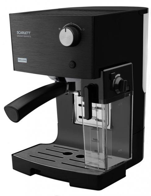 Кофеварка эспрессо SCARLETT SC-CM33016 черный - изображение 1