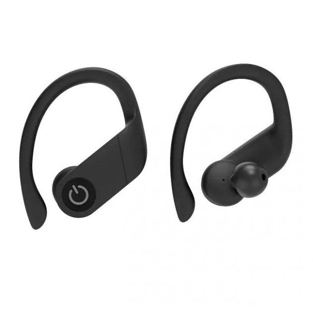 Беспроводные Bluetooth наушники Airset B5 черные для спорта MVAZ-0001 - изображение 1
