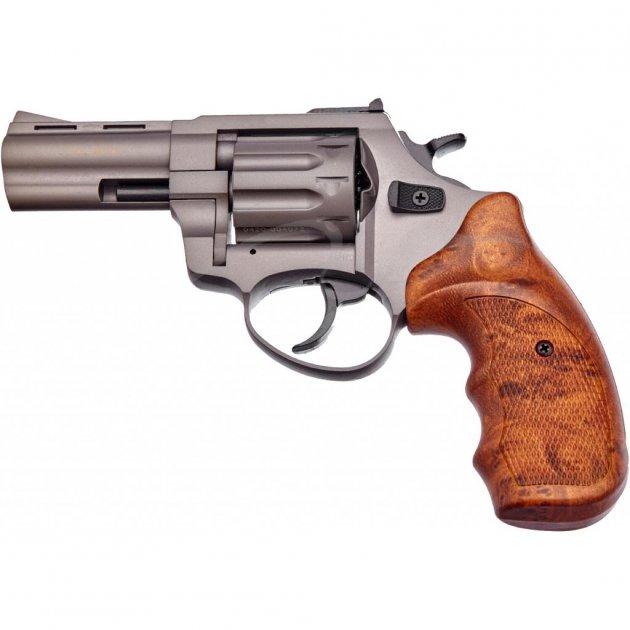 """Револьвер під патрон Флобера STALKER 3"""" 4 мм Titan Brown (GT3W) - зображення 1"""