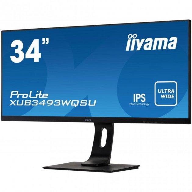 Монітор iiyama XUB3493WQSU-B1 - зображення 1