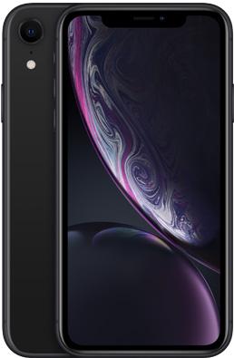 Мобільний телефон Apple iPhone Xr 64 GB Black Slim Box (MH6M3) Офіційна гарантія - зображення 1