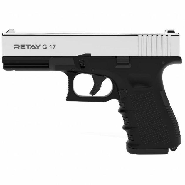 Стартовий пістолет Retay G17 Nickel - изображение 1