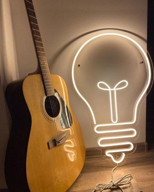 Неонова вивіска «Велика лампочка» - зображення 1