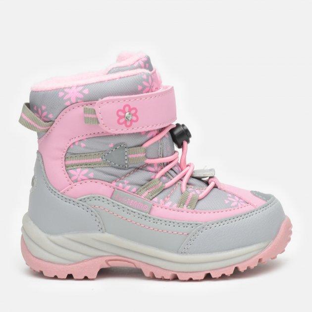 Ботинки B&G R20-205 27 17.9 см Серый/Розовый (2000000406916) - изображение 1