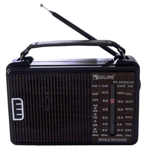 Радіоприймач Golon RX-608A CW (RX-608ACW) - зображення 1