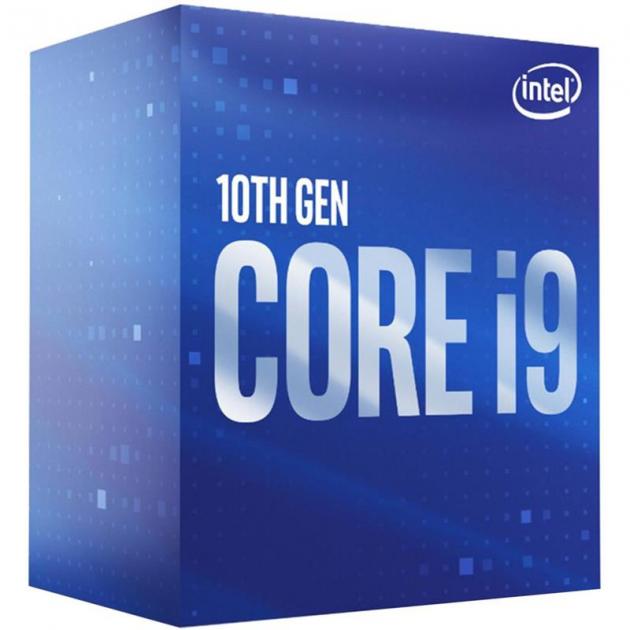 Процесор Intel Core i9 10900 2.8 GHz (20MB, Comet Lake, 65W, S1200) Box (BX8070110900) - зображення 1