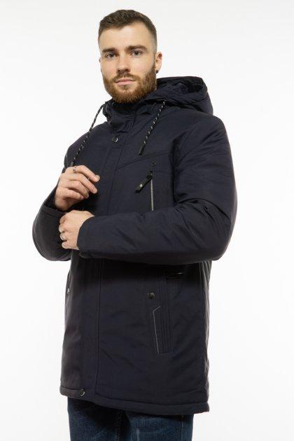 Куртка с капюшоном Time of Style 191P953 48 Темно-синий - изображение 1