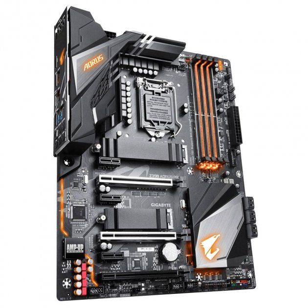 Материнская плата Gigabyte Z390 Aorus Pro (s1151v2, Intel Z390, PCI-Ex16), RMA - изображение 1
