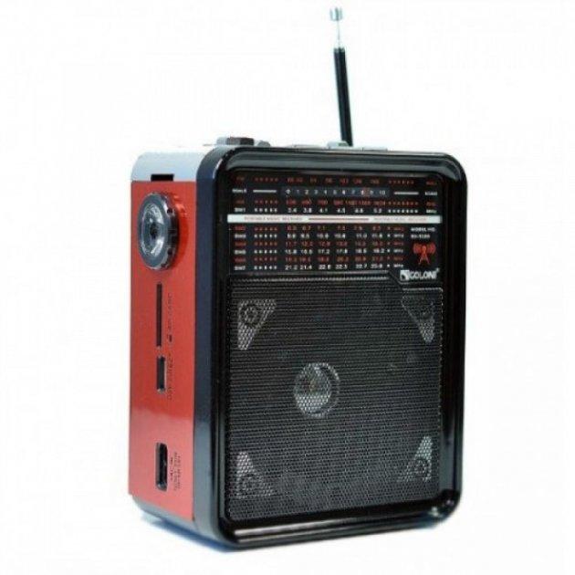 Радиоприёмник Портативный Golon RX-9100 Red - изображение 1