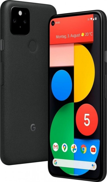 Смартфон Google Pixel 5 8/128GB Just Black - зображення 1