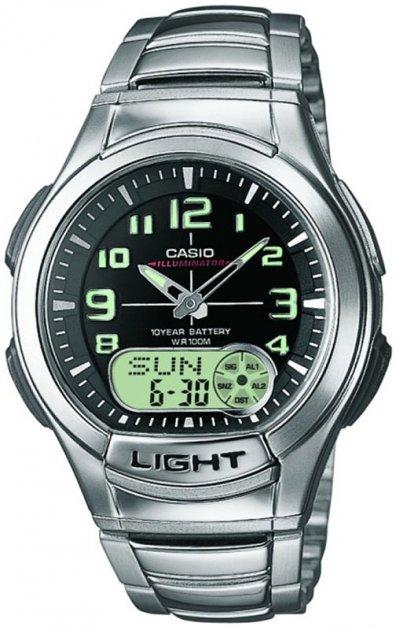 Чоловічий годинник CASIO AQ-180WD-1BVES - зображення 1