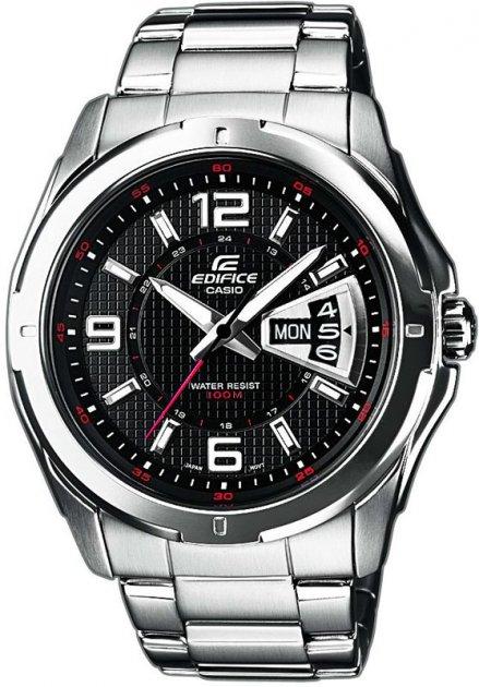 Чоловічий годинник CASIO EF-129D-1AVEF - зображення 1