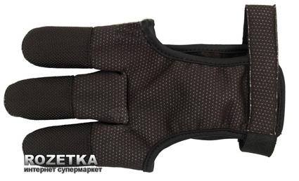 Перчатка для стрельбы из лука Bearpaw Black XL (70157_XL) - изображение 1