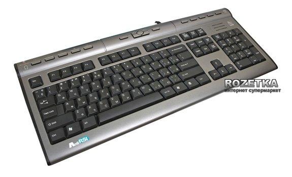 A4Tech KLS-7MUU USB X-slim USB 2+Headset Silver+Black - изображение 1
