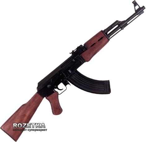 Макет автомата АК-47, розробленого Михайлом Калашніковим в 1947 роцi, Denix (1086) - зображення 1