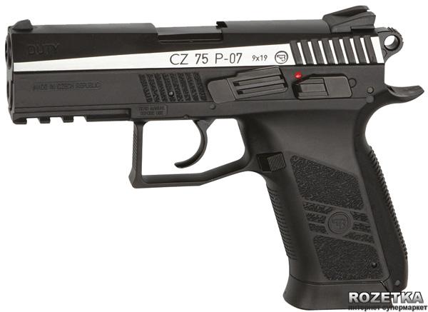 Пневматичний пістолет ASG CZ 75 P-07 Blowback DT (23702518) - зображення 1